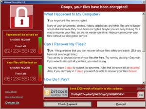 wannacry ransomware chatswood