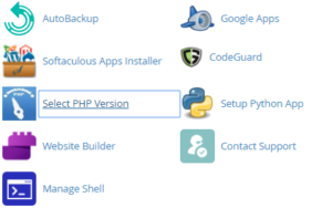 select cpanel PHP namecheap